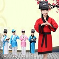 Китайский hanfu dress рождество танцевальные костюмы для детей традиционный китайский тан древний костюм классические детей малыш девушки парни
