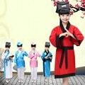 China tradicional chinesa tang hanfu dress natal trajes de dança para crianças traje antigo clássico crianças miúdo meninas meninos