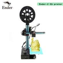 2017 Высокоточный Ender-2 3D принтер мини RepRap Prusa I3 дешевые 3D принтер DIY Kit с нитями + SD карты + инструменты как подарок
