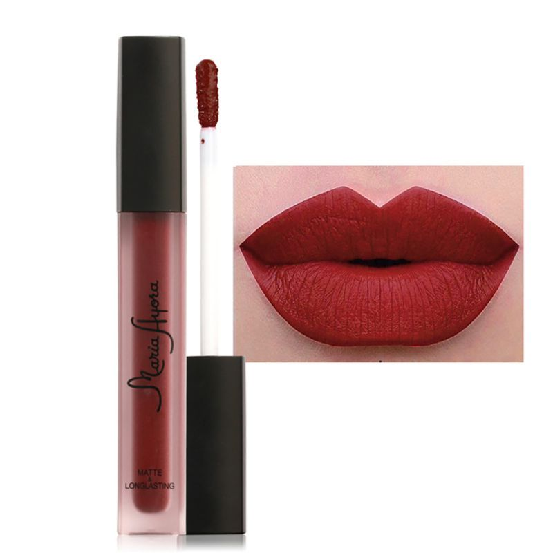 12 Colors Makeup Waterproof Matte Velvet Liquid Lipstick Lip Gloss Long Lasting Beauty Make Up Cosmetic