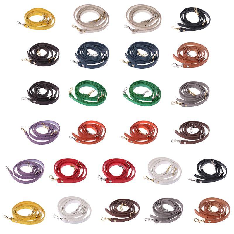 DIY Purse Strap Bags Accessory 120cm PU Leather Shoulder Bag Handle Handbags Belts Strap
