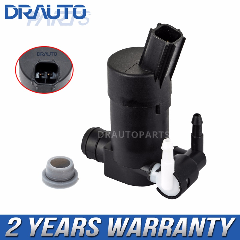 Windscreen Washer Pump 12V Twin Outlet for Peugeot 307 2002-2009