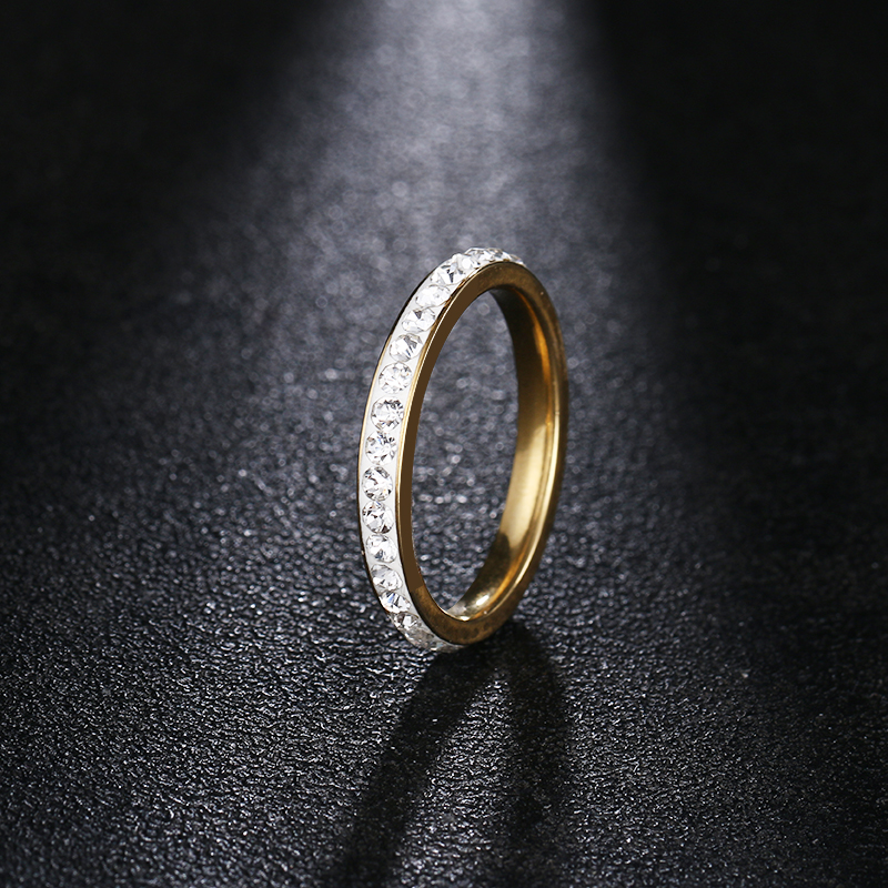 Купить женские кольца из нержавеющей стали dotifi серебряное/золотое