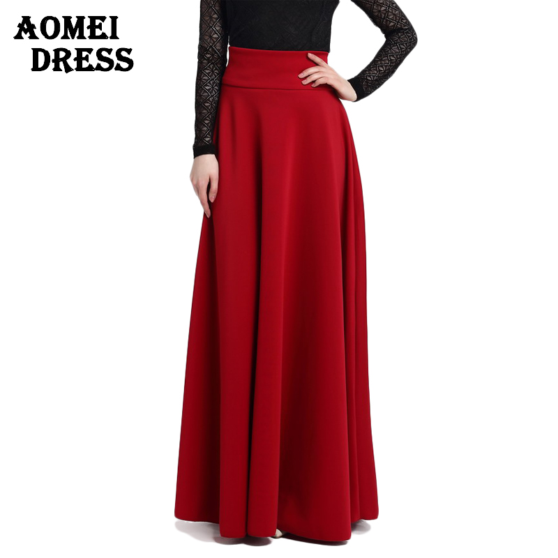 Long Red Skirt Reviews - Online Shopping Long Red Skirt Reviews on ...