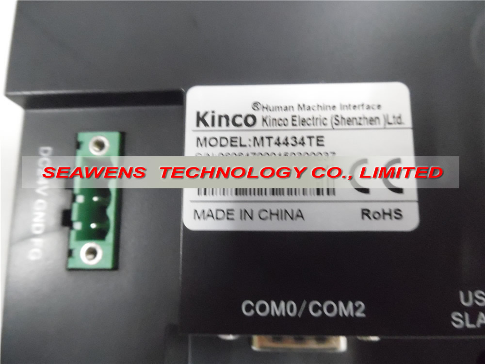 MT4434TE :7 inch Kinco MT4434TE HMI touch screen panel Ethernet with programming Cable&Software, Fast shipping mt4300ce 5 6 inch kinco hmi touch screen panel mt4300ce ethernet with programming cable