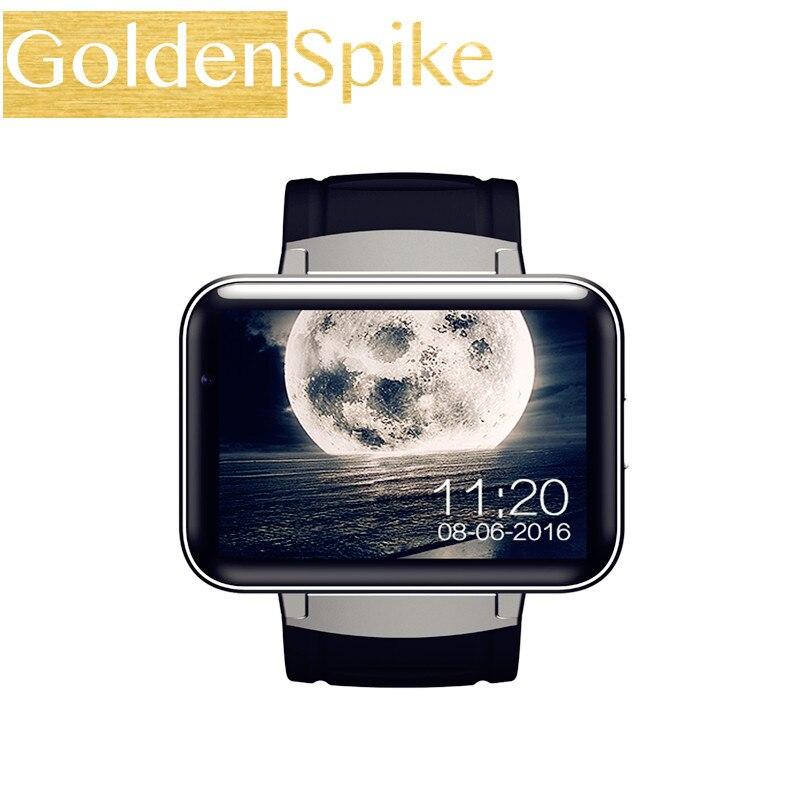 Горячие DM98 часы smart bluetooth телефона <font><b>MTK6572</b></font> с 2 г/3 г SIM Камера ОС Android 5.1 Часы SmartWatch Наручные часы 900 мАч GPS Wi-Fi