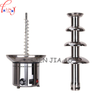 ANT 8060 Commercial 4 layers stainless steel chocolate fountain machine Chocolate heating pot waterfall machine 110/220V 1PC
