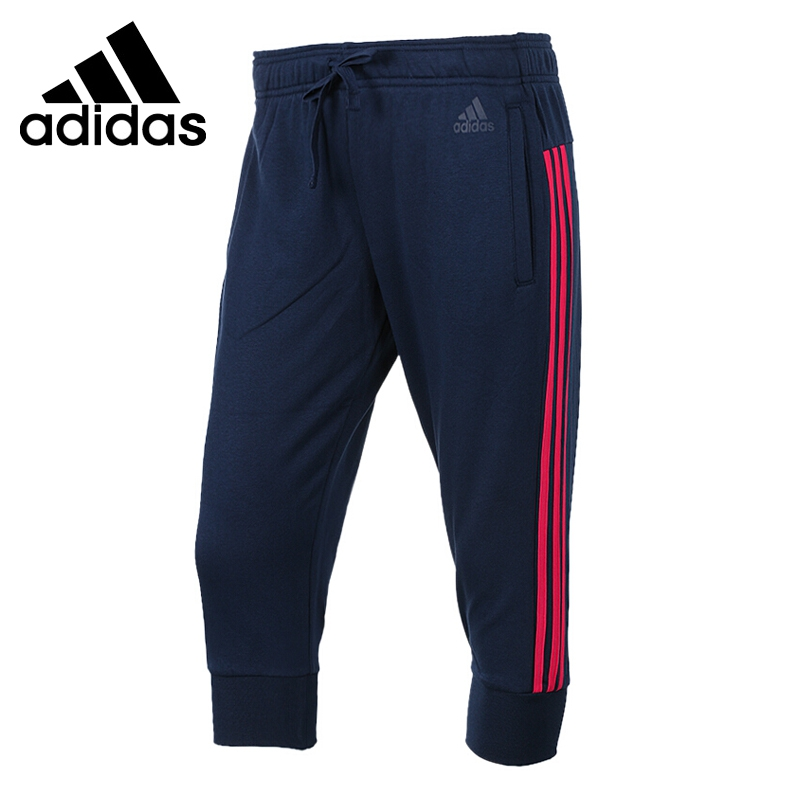 Original New Arrival 2018 Adidas Performance ESS 3S 3/4PT SL Women's Shorts Sportswear купить недорого в Москве