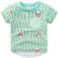 2017 New!! Children Clothes Girls T-shirt Cartoon Children T-shirts 100% Cotton Children's T-shirt Free Shipping