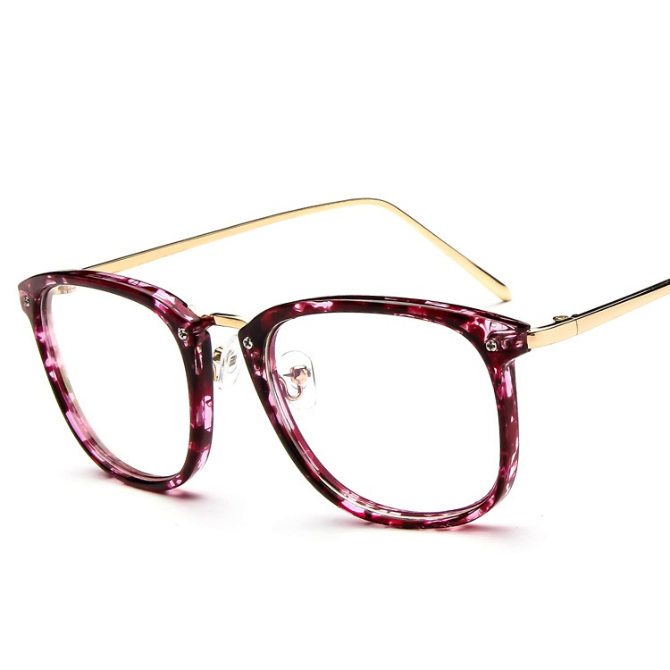 SOLO TU Trend Retro Men Women Eyeglasses Frames Square Frame ...