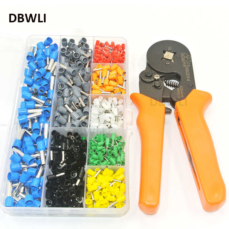 800 Wire Crimping Tool Kit  AWG 10-22 Terminal Connector Sleeves Contractors Ferrule Crimper Pliers for Stripper Wiring Projects