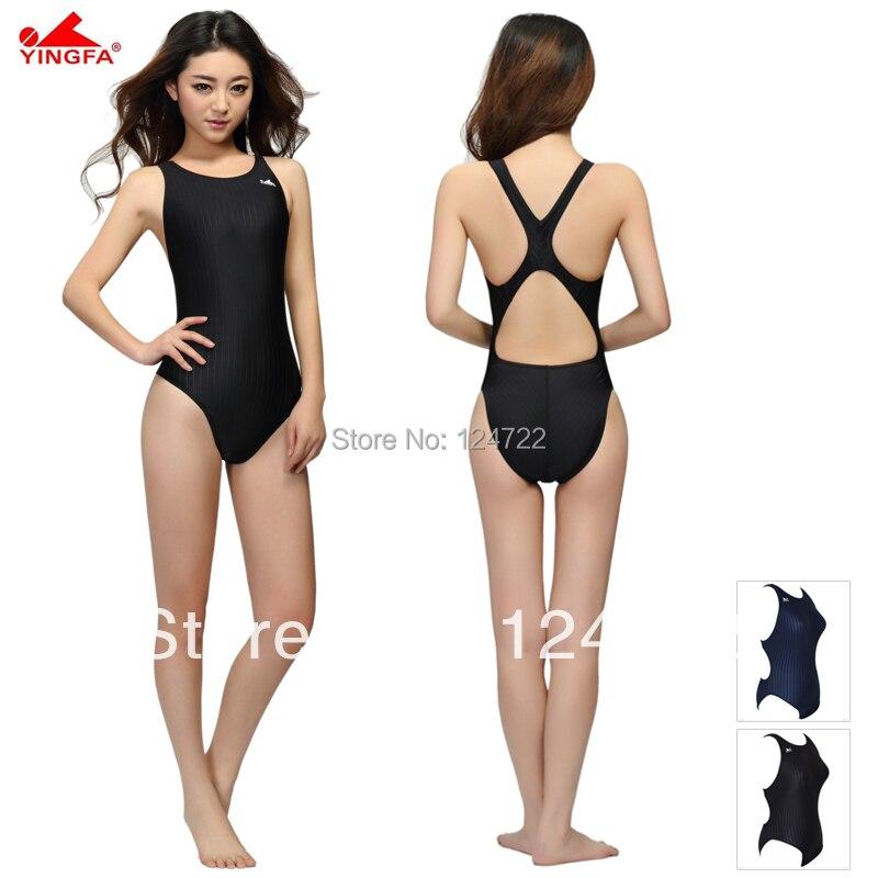 Yingfa adult swimsuit one piece training competition ...