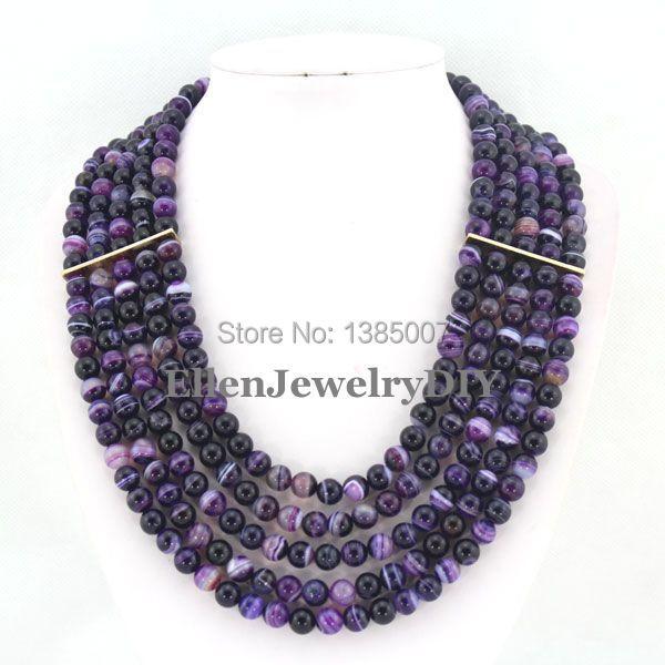 5 рядов красивое ожерелье свадьбу ожерелье невесты подарок красивые бусы украшения W7384