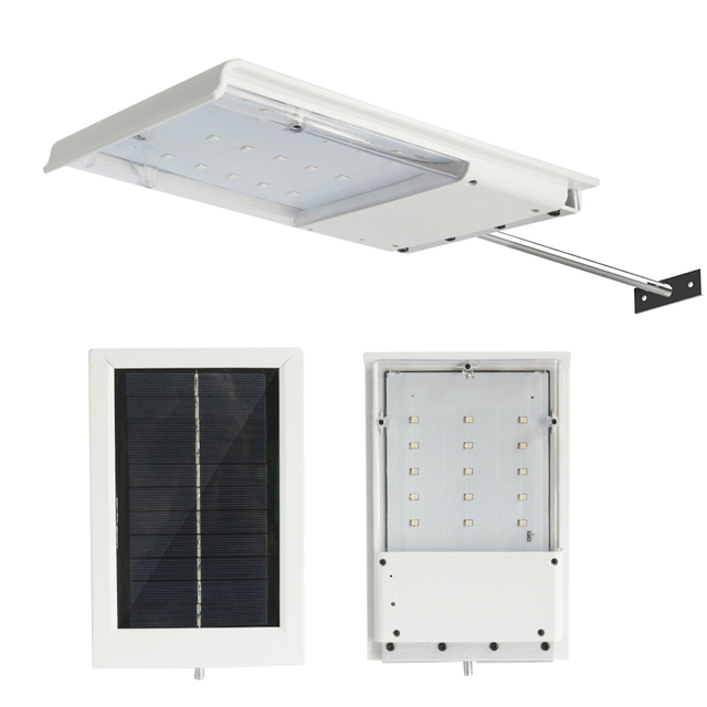 Outdoor wireless 15led 260lm solar wall street lamp light sensor outdoor wireless 15led 260lm solar wall street lamp light sensor control ip55 yard security road park workwithnaturefo