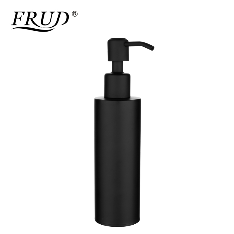 FRUD 304 Stainless Steel Sink Liquid Soap Dispenser 360 Degrees Swivel Bathroom Accessories Lotion Detergent Bottle ModernY18003FRUD 304 Stainless Steel Sink Liquid Soap Dispenser 360 Degrees Swivel Bathroom Accessories Lotion Detergent Bottle ModernY18003