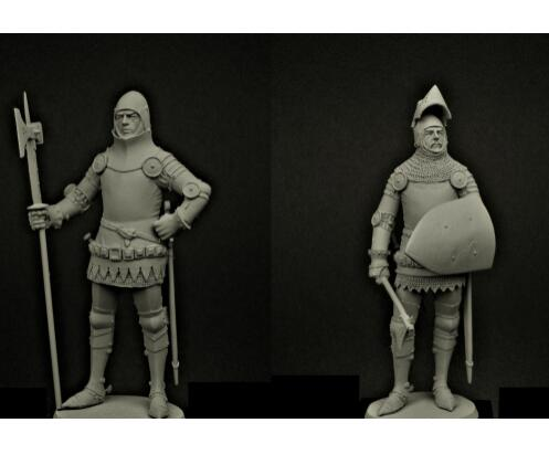 1/24 75mm ancient soldier with sword We few, we happy few West 75mm toy Resin Model Miniature Kit unassembly Unpainted happy few блузка