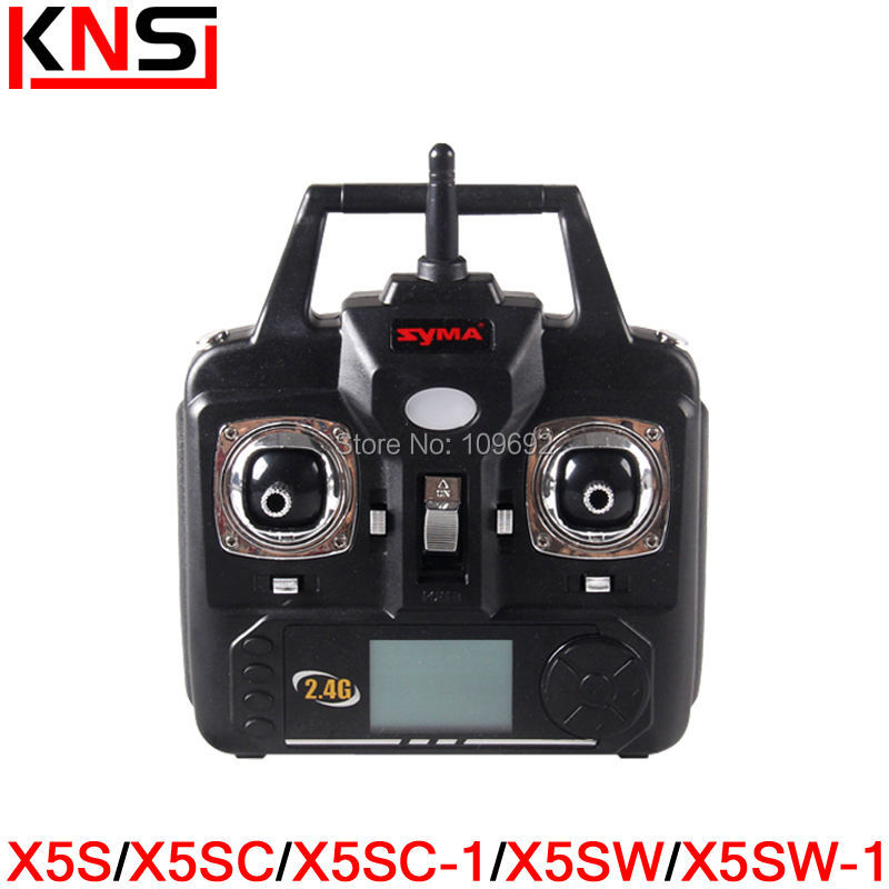 все цены на  New Version SYMA X5S X5SC X5SW RC Quadcopter Drone 2.4G Remote Control Helicopter Transmitter Accessories Controller Spare parts  онлайн