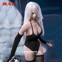 1/6 Scale Sexy Clothes Set Nier Automata 2B Head & weapon Model Fit S10D Body Accessories