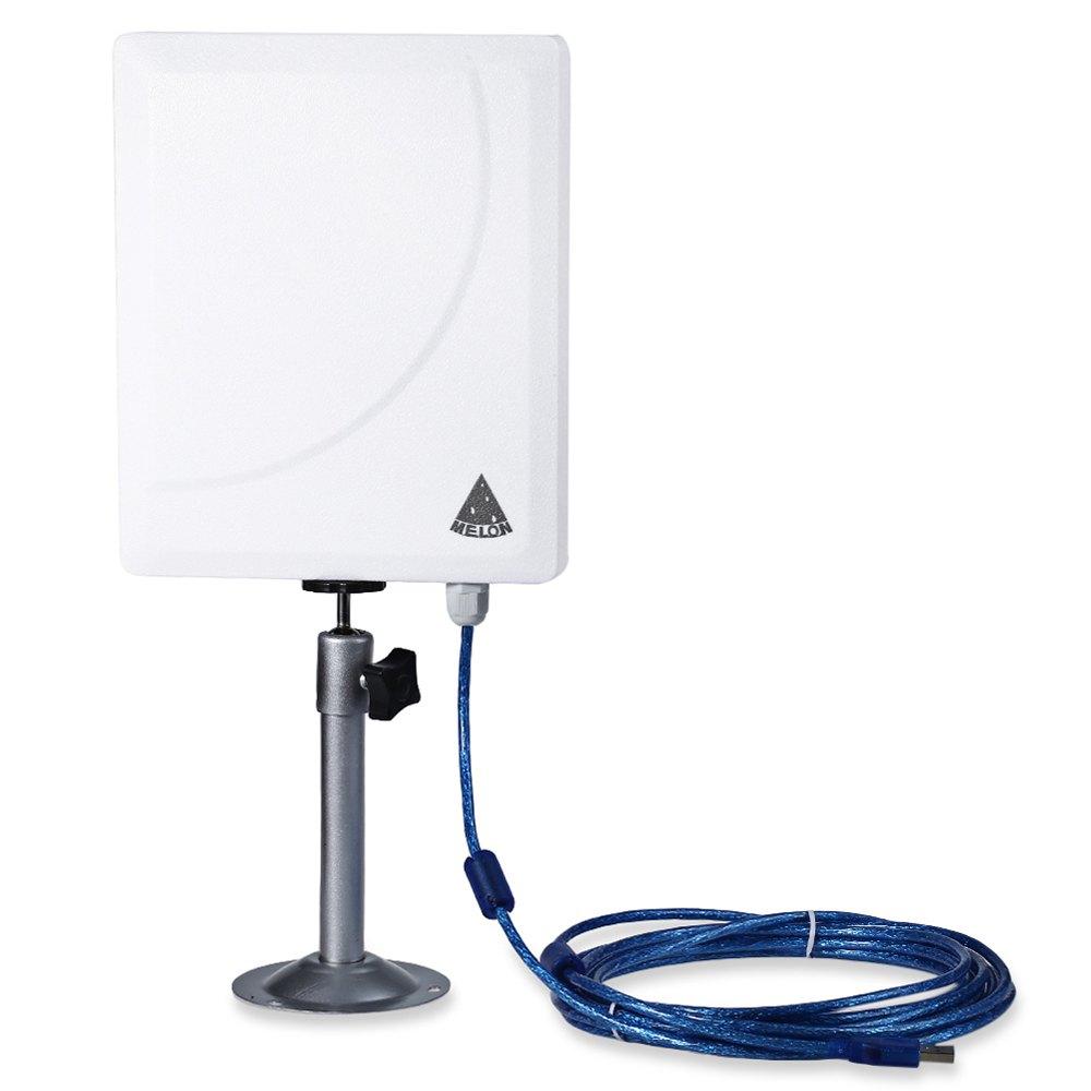 Prix pour MELON N519 5 m Câble Extérieur résistant à L'eau 300 M USB Sans Fil Carte Réseau 11 Mbps 300 Mbps 54 Mbps avec USB 2.0 plug