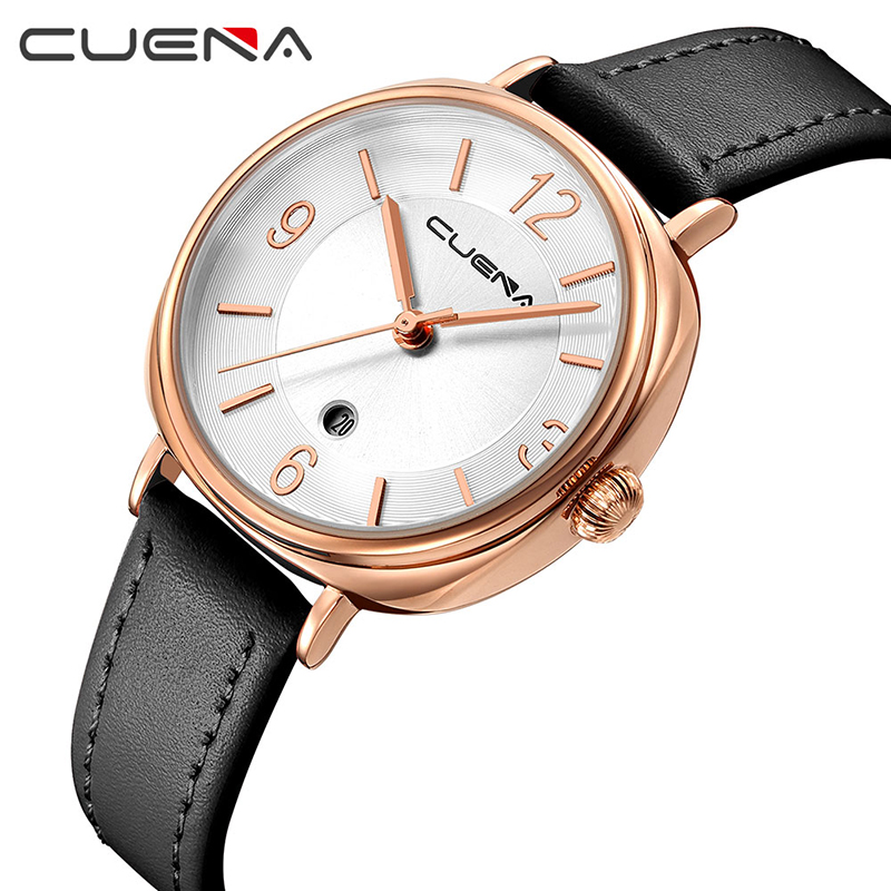 CUENA Fashion Ladies Watches Top Brand Luxury Women Quartz Watch Dress Wristwatches Waterproof Clock Relojes Relogio Feminino top ochstin brand luxury watches women 2017 new fashion quartz watch relogio feminino clock ladies dress reloj mujer