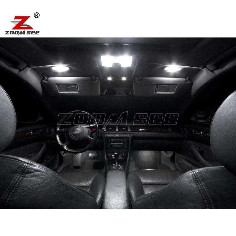 22 шт. X идеальный Canbus без ошибок светодиодный купольный светильник для салона Карта комплект посылка для Audi A6 S6 C5 СЕДАН только(1998-2004