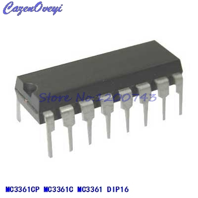 10pcs/lot MC3361CP MC3361C MC3361 DIP-16 In Stock