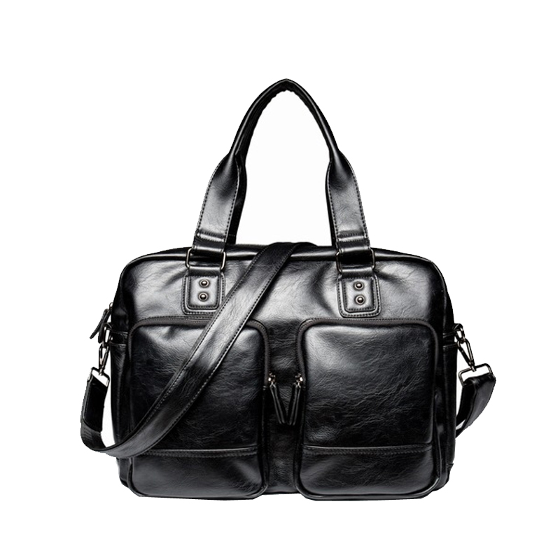 Famous Brand Classic Design Leather Shoulder Bag Mens Messenger Bags Promotional Casual Business Man Bags Briefcase videng polo famous brand men leather handbag casual vintage messenger bag classic business briefcase man crossbody shoulder bags