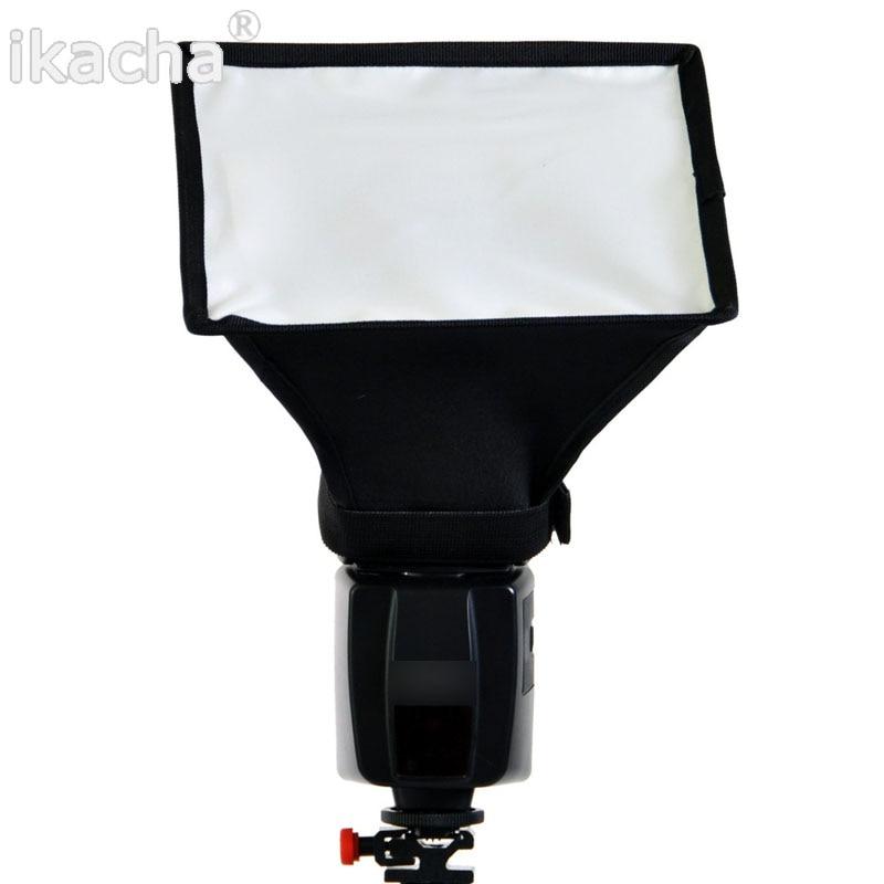 10 pcs Flash Softbox Agnelé Boîte 20x30 Flash Diffuseurs Mesure 20*30 cm Pour Canon 580EX/430EX/550EX/540EZ/420EX/380EX Livraison