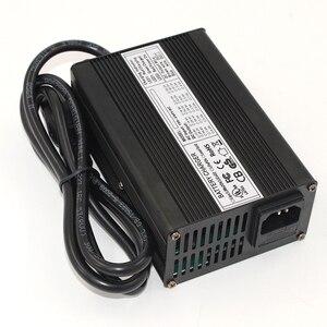 Image 2 - 42V 2.5A 리튬 이온 배터리 충전기 알루미늄 케이스 10S 36V Lipo/LiMn2O4/LiCoO2 배터리 스마트 충전기 자동 정지 스마트 도구
