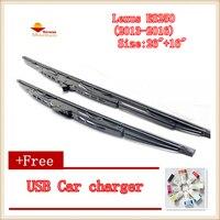 2pcs/lot Car Windscreen Wipers Blades U-type Universal For Lexus ES250 (2013-2016) Size:26