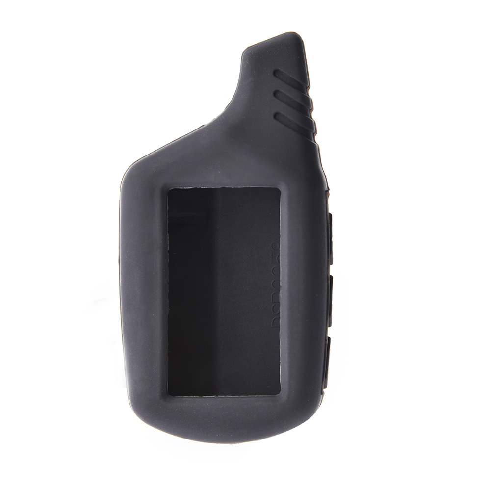 Silicone B9 B6 LCD Body Cover Case 2 Way Car Alarm For Starline B9 B91 B6 B61 A91 A61 V7 Remote Key Chain