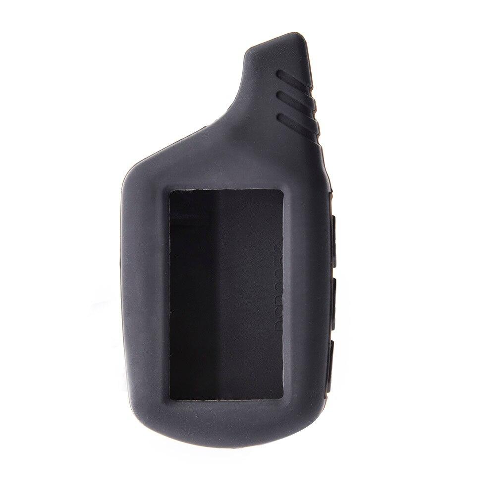 Silicone B9 B6 LCD corps housse 2 voies alarme de voiture pour Starline B9 B91 B6 B61 A91 A61 V7 porte-clés à distance