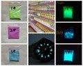 12 Colores Para Elegir, brillante Polvo de Pigmento Fotoluminiscente Polvo fluorescente luminoso Noctilucentes Glow In Dark
