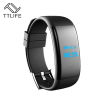 TTLIFE IP68 Водонепроницаемый Bluetooth 4.0 Smart Браслет Heart Rate трекер сна монитор для Android IOS Supprt Камера для телефонов