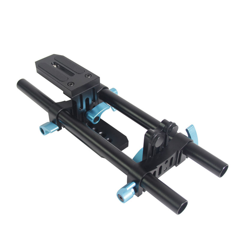 DSLR Rail 15mm Rod Support System Accessory , DSLR Camera rig