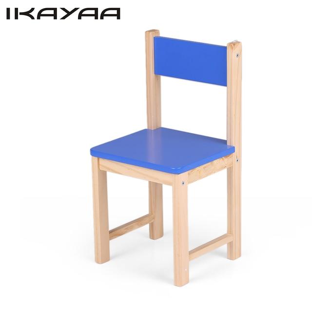 IKayaa DE Stock Mignon En Bois Enfants Chaise Tabouret Pin Massif ...