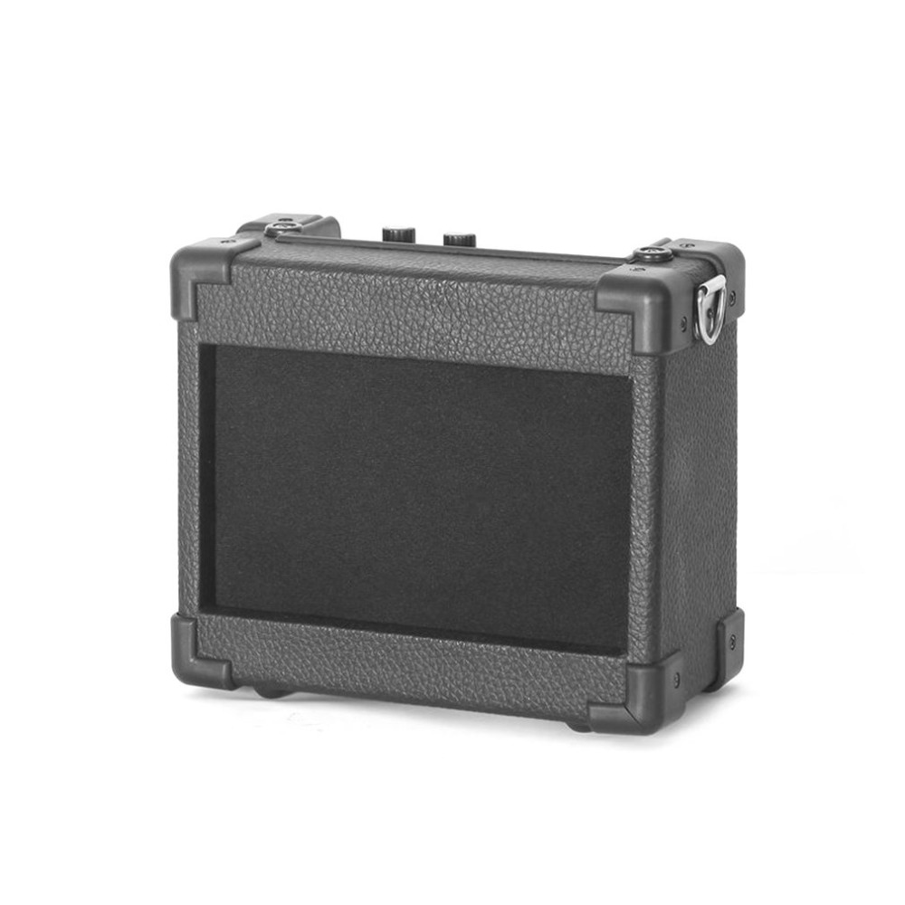 GA-5 5W Mini Portable Guitar Amplifier Guitar Amp With 4 Inches Speaker Guitar Accessories For Acoustic Electric Guitar Hot aroma ag 03m 5w mini portable guitar amp recorder speaker tf card multifunction with distortion