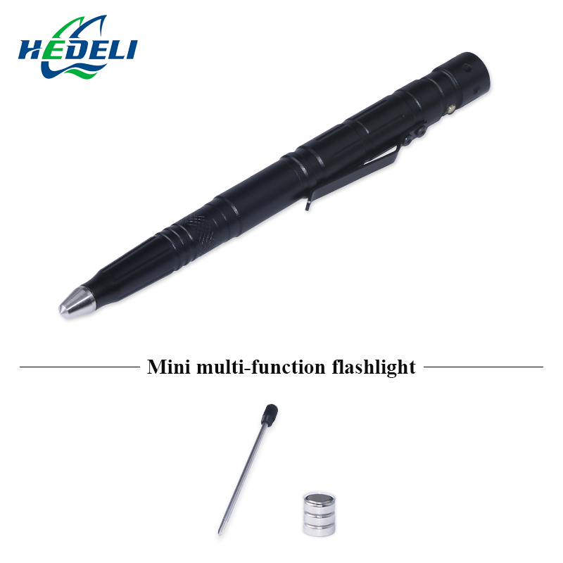 lanterna tatica flashlight led caneta self defense lamp Glass Breaker Knife Pens Camping Travel Kits penlight torch 2015 hot red led flashlight lanterna tatica led torch flash light self defense 1 mode for camping fishing hunting wholesale