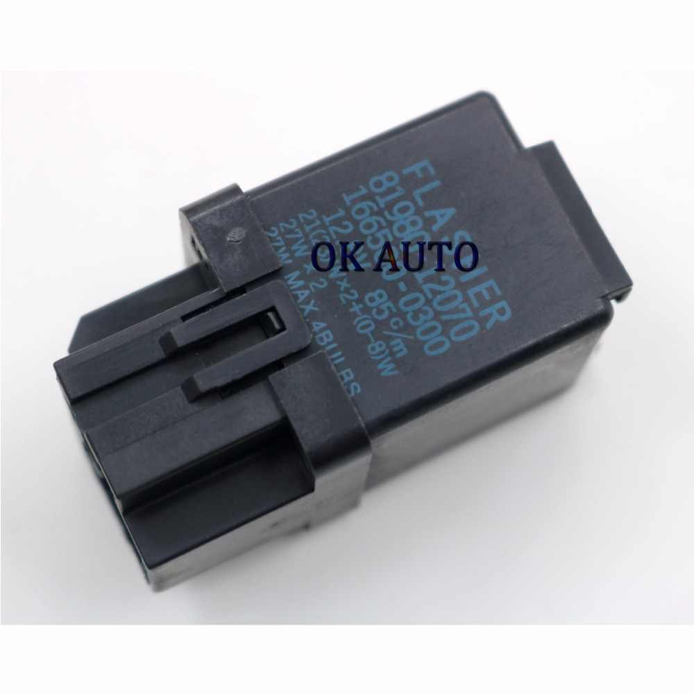 hight resolution of 81980 12070 166500 0300 flasher relay turn signal for toyota corolla mr2 camry rav4