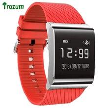 Trozum X9 плюс измерять кровяное давление кислорода Интеллектуальный сердечного ритма браслет шаг за шагом мониторинга сна SMS Дисплей Смарт wearband