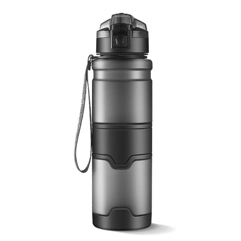 Mehrere Spezifikationen 1000 ml Kunststoff Sport Wasserflasche BPA FREI Dicht Trinkflasche Für Wasser Mit Seil Tragbare Wäschetrockner