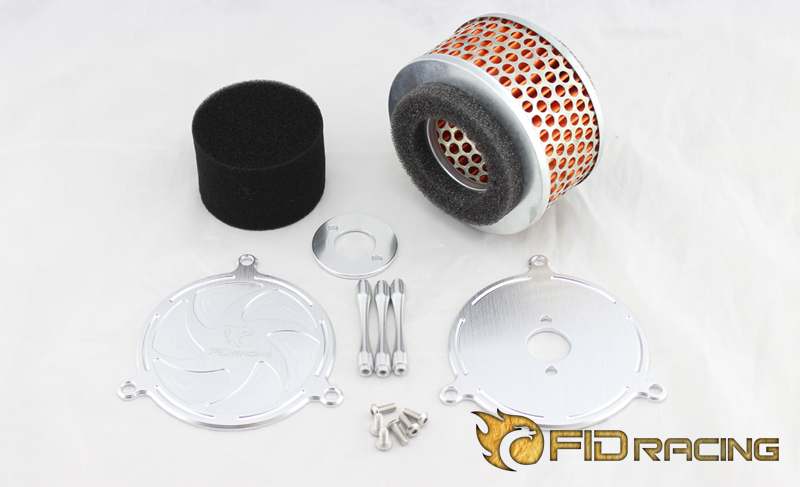 new alloy air filter for 1/5 scale truck Losi 5IVE-T 5T losi 5t silent r2 high speed tube exhaust pipe suilted for losi 5ive t vrc 87070