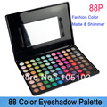 Free Shipping!! Makeup Set  88 matte Color Eye shadow Palette with Mirroe Cosplay Palette 88P Dropshipping!