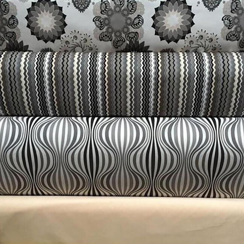 Hlqon Printed Cotton Linen Fabric For