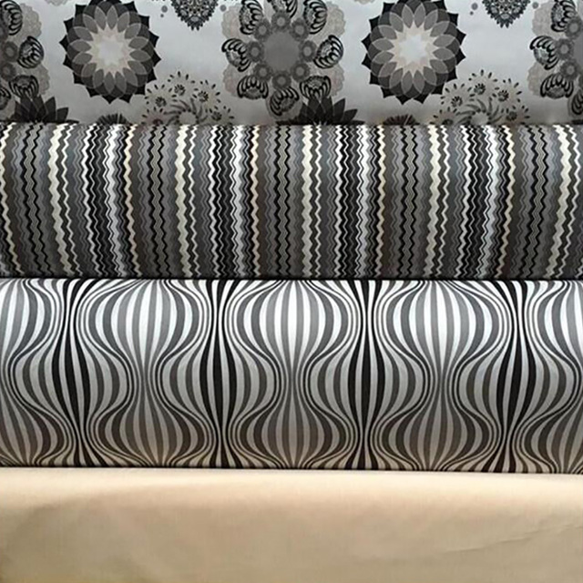 Hlqon Printed Cotton Linen Fabric For Diy Quilting Sewing Sofa Cushion Material Curtain