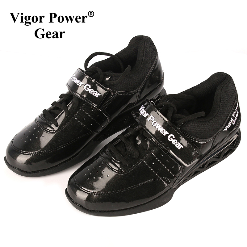 Vigor Power Gear High Quality Weight Lifting Shoes Powerlifting shoes Squat Shoes For Weight Lifting Exercise Training image