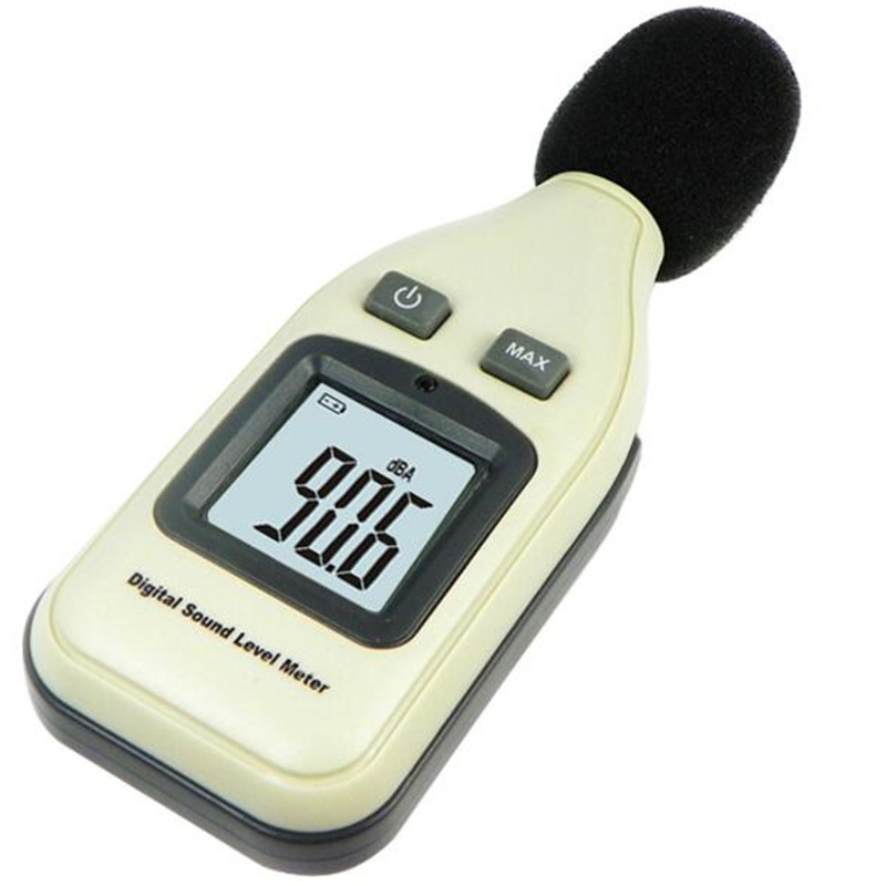 GM1351 30-130dBA Digital Noise Sound Level Meter 1.5 dB Accuracy Decibel Logger Tester LCD Automatic Backlight uyigao ua824 digital decibel sound level meter noise meter tester with max min hold 30dba 130dba range measurement hand held