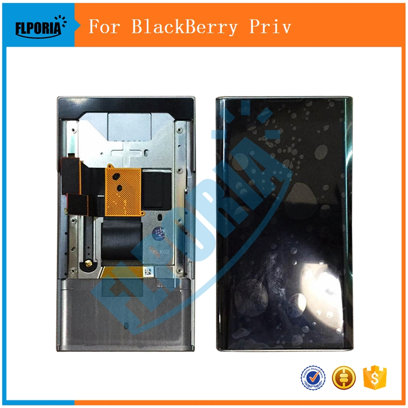 100% Original For BlackBerry Priv LCD Display Touch Screen Digitizer Assembly With Frame Replacement Parts (Wholesale Support)100% Original For BlackBerry Priv LCD Display Touch Screen Digitizer Assembly With Frame Replacement Parts (Wholesale Support)