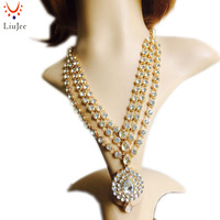 Gold Color Fashion Wedding Bridal Indian Jewelry Kundan Necklace Bridesmaids Party Prom NK 020
