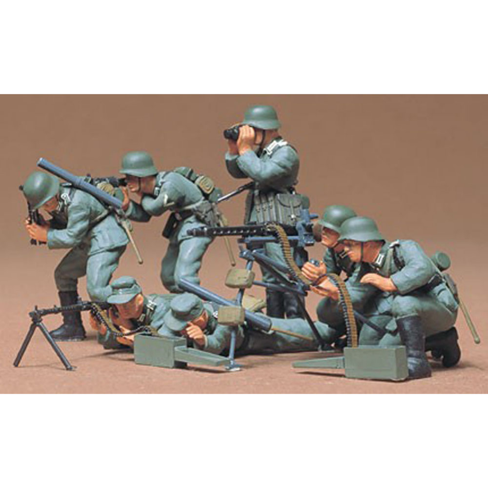 7 MG Groups Military Miniatures Tamiya 35038/